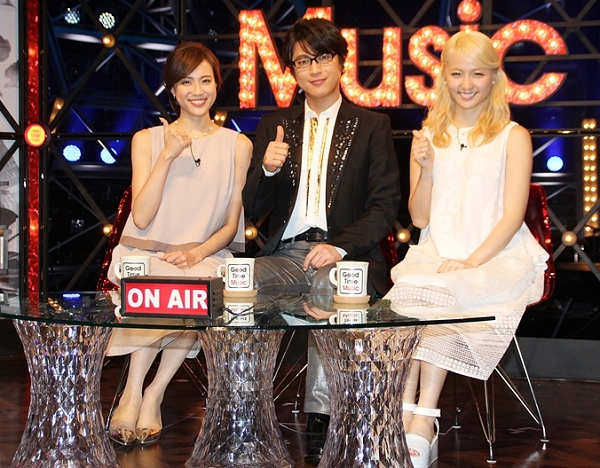 【動画】E-girls Ami×及川光博『Good Time Music』新音楽番組を紹介!.png