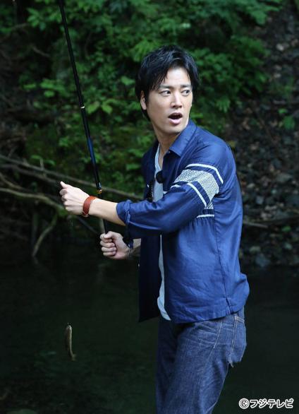 7月25日放送「SMAP×SMAP」桐谷健太が木村拓哉と奥多摩で川釣りを楽しむ!!.png
