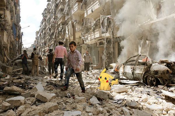 「SyriaGO」(シリアGO)Pokemon&Children , hope the peace of Syria!!.png