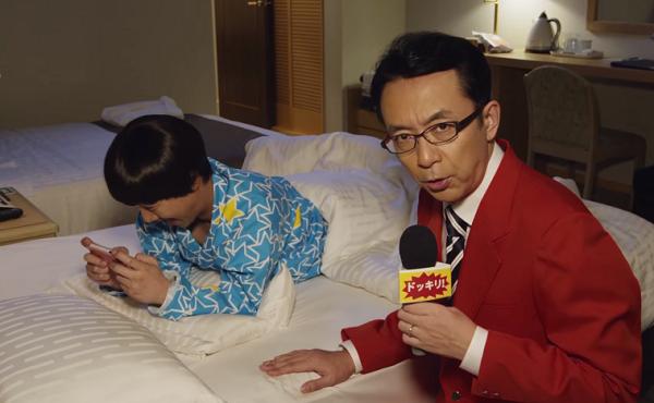 【動画】中居正広×福澤朗「デレステ」CM「寝起きドッキリ篇」で共演!.png