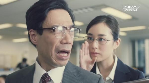 内村航平&加藤凌平オフィスであん馬!部長が怒るCM「オフィスで体操」篇.png