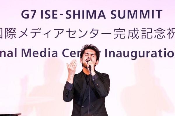 平井堅G7国際メディアセンター完成記念祝典で応援ソング『TIME』を披露!.png