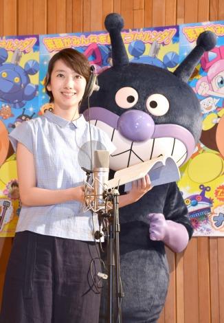 波瑠の公開アフレコにて「ばいきんまんが好き」.png